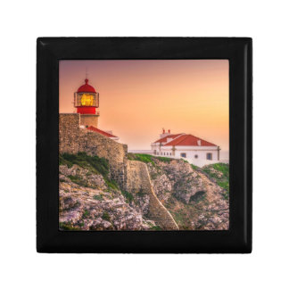 Cabo Sao Vicente At The Sunset | Algarve, Portugal Gift Box