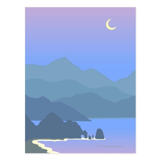Cabo Seascape Postcard