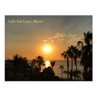 Cabo Sunrise Postcard