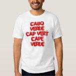 CABO VERDE CAP VERT CAPE VERDE SHIRTS