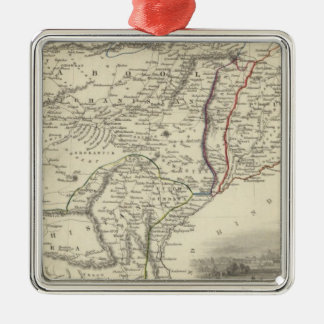 Cabool, The Punjab and Beloochistan Christmas Ornament