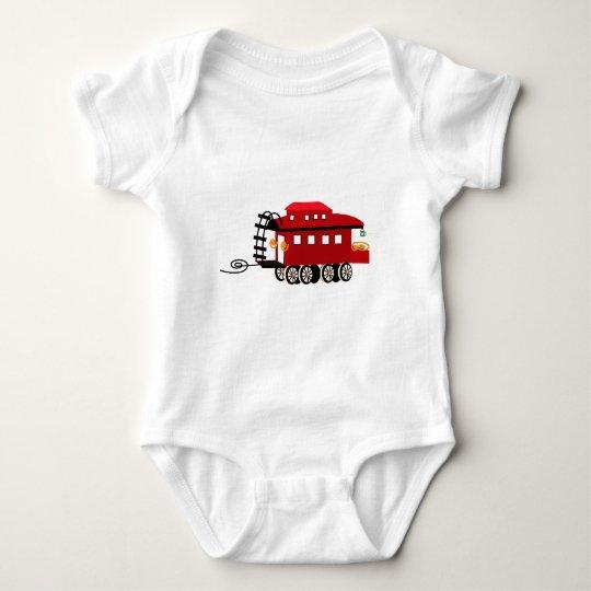 Caboose Baby Bodysuit