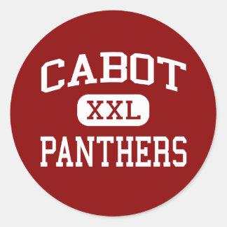 Cabot - Panthers - High School - Cabot Arkansas Classic Round Sticker