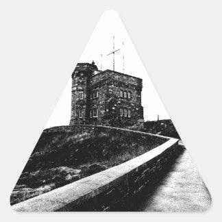 Cabot Tower Triangle Sticker