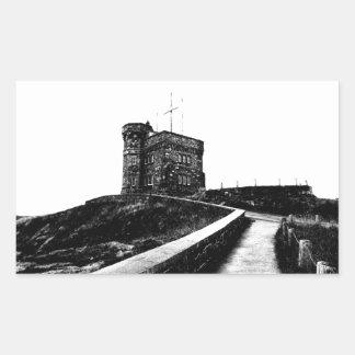 Cabot Tower Rectangular Sticker