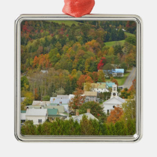 Cabot, Vermont in fall. Northeast Kingdom. Christmas Ornament