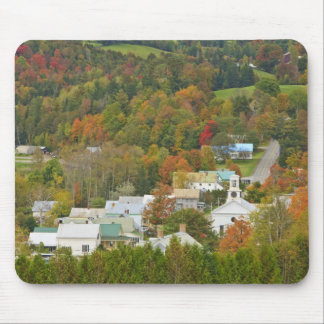 Cabot, Vermont in fall. Northeast Kingdom. Mouse Pad