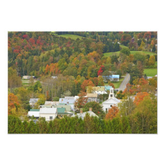Cabot, Vermont in fall. Northeast Kingdom. Photograph