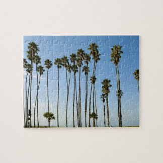 Cabrillo Avenue, Santa Barbara, California Jigsaw Puzzle