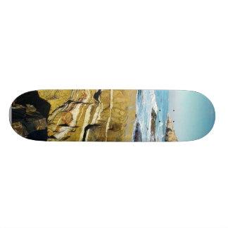 Cabrillo Tide Pools Ocean Waves Skate Boards