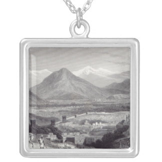 Cabul from the Bala Hissar Silver Plated Necklace