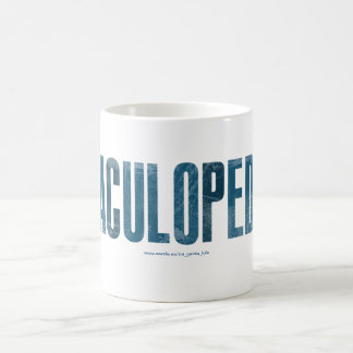 CacaCuloPedoPis Basic White Mug