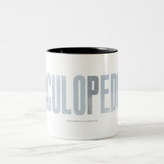 CacaCuloPedoPis Two-Tone Mug