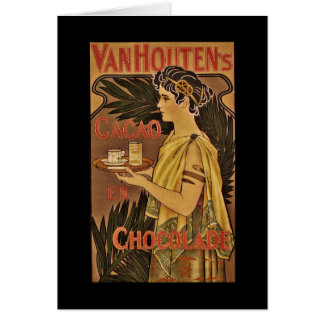 Cacao and Chocolade VanHouten Greeting Card