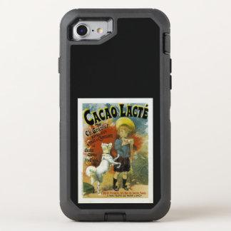 Cacao Lacte OtterBox Defender iPhone 8/7 Case