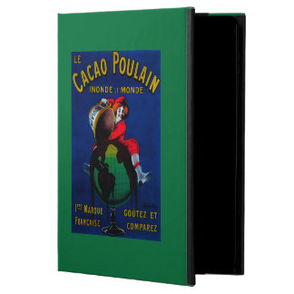 Cacao Poulain Vintage PosterEurope iPad Air Cases