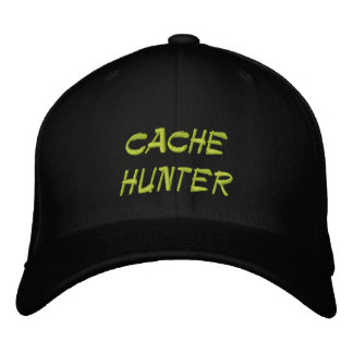cache hunter embroidered hat