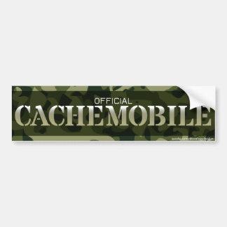 Cachemobile Bumper Sticker