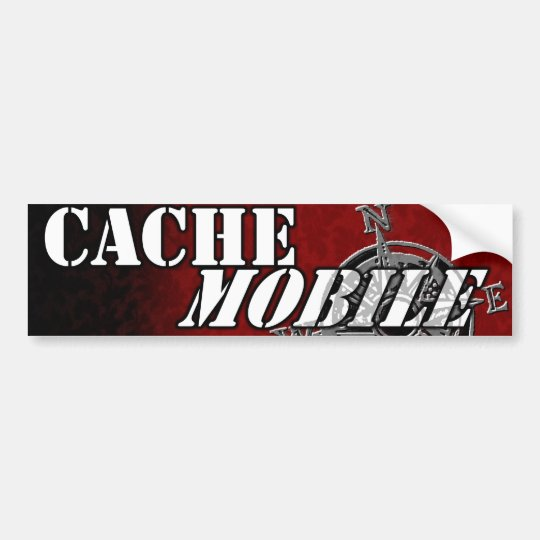 Cachemobile bumpersticker bumper sticker