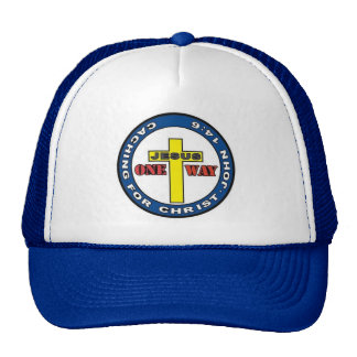 Caching for Christ Mesh Hat