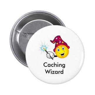 Caching Wizard Geocaching Swag Pin