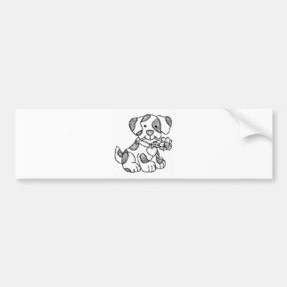 cachorro.png bumper sticker
