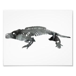 cacops skeleton photo print