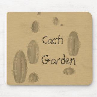 Cacti Garden Mouse Pad