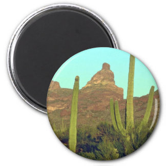 Cacti In Hottest Regions Refrigerator Magnets