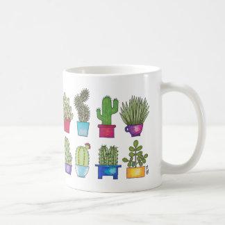 Cacti in Pots Coffee Mug
