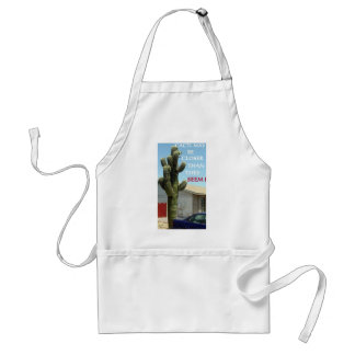 CACTI MAY BE CLOSER THAN THEY SEEM STANDARD APRON