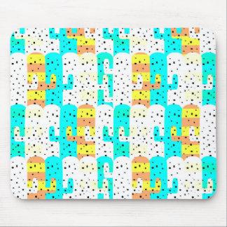 Cacti pattern mouse mat