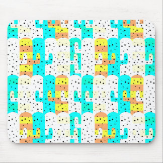 Cacti pattern mouse pad