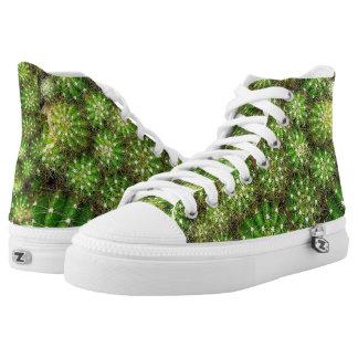 Cacti Zipz High Top Shoes