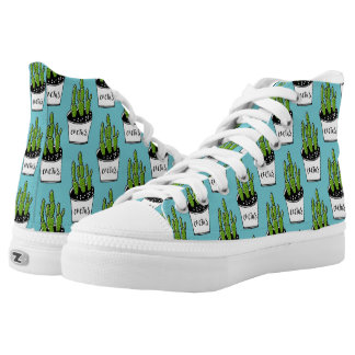 Cactus 01 printed shoes