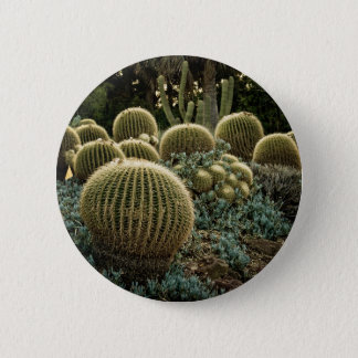 Cactus 6 Cm Round Badge