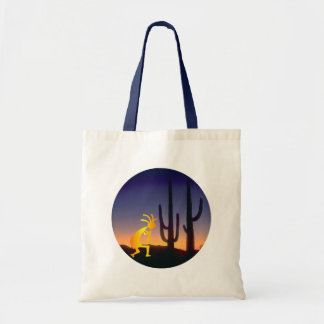 Cactus and Kokopelli Round
