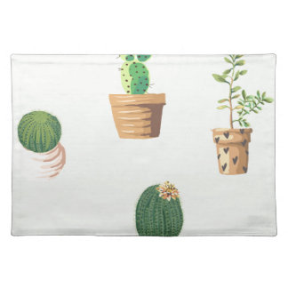 Cactus and Plants Placemat