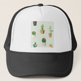 Cactus and Plants Trucker Hat
