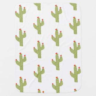 cactus baby blanket/ trendy baby blanket