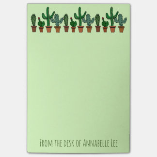 Cactus Banner Post-it Notes