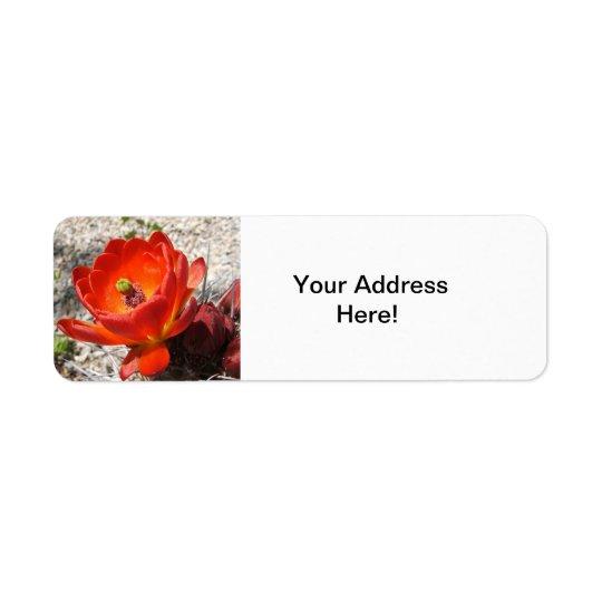 Cactus blossom return labels