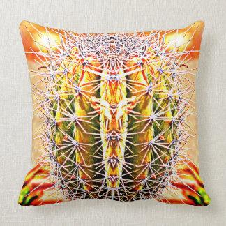 Cactus Boost Poly Throw Pillow