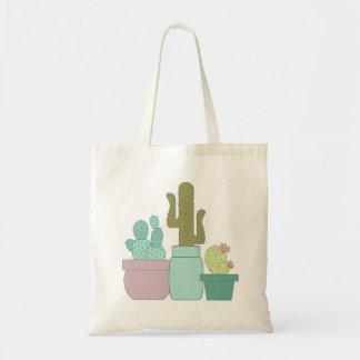 Cactus Budget Tote