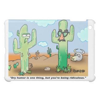 Cactus Cartoon | Dry Humor iPad Mini Cases