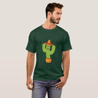 Cactus celebrating Cinco De Mayo T-Shirt