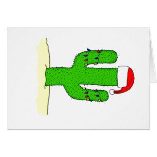 Cactus Christmas Card