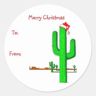 Cactus Christmas Tree - Gift Tags