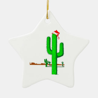 Cactus Christmas Tree- Star Ornament