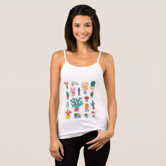 Cactus colorful tank top